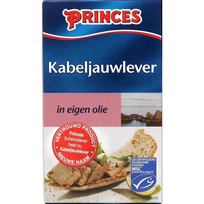 Schelvislever in eigen olie (blik 120 g) (blik, 120g)