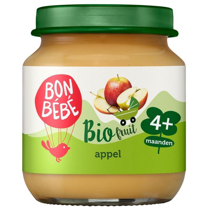 Bonbébé Fruithapje appel 4+ (125g)