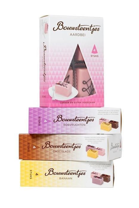 Bouwsteentjes Banaan 4 x 58g (4 × 0.95L)