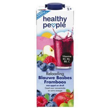 Healthy People Blauwe Bosbes Framboos 1 L (Stuk, 1L)