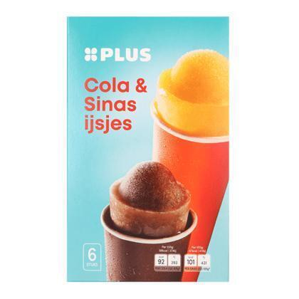 Push Up IJs Cola/Sinas 6st (0.63L)