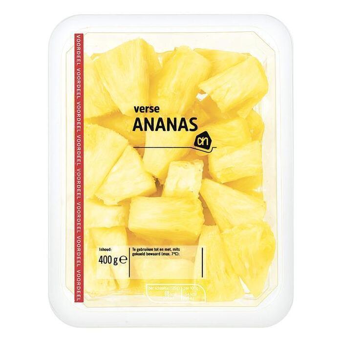Verse en Sappige Ananas (bakje, 400g)