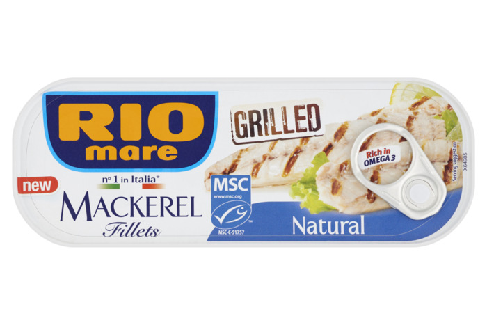 Rio Mare Mackerel Fillets Grilled Natural 120g (120g)