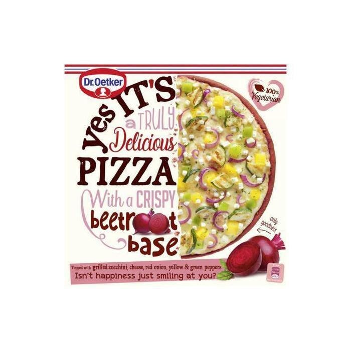 Dr. Oetker Yes It's Pizza Beetroot Base 315 g (305g)