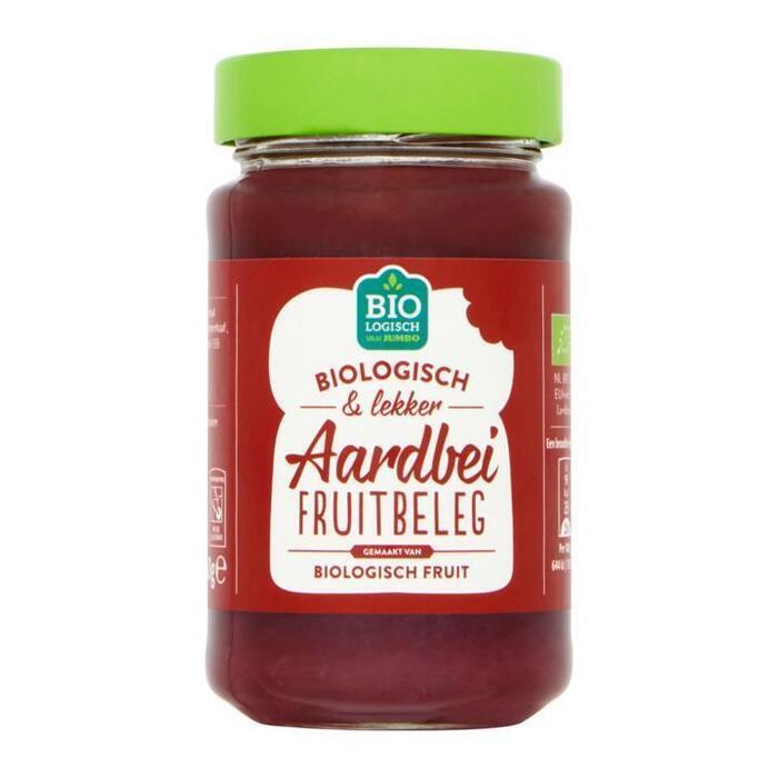 Jumbo Biologisch Aardbei Fruitbeleg 250 g (250g)