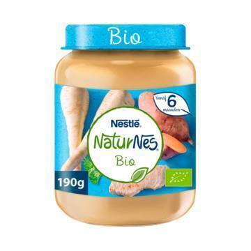 NaturNes Groenten kalfsvlees 6+ mnd babyvoeding (190g)