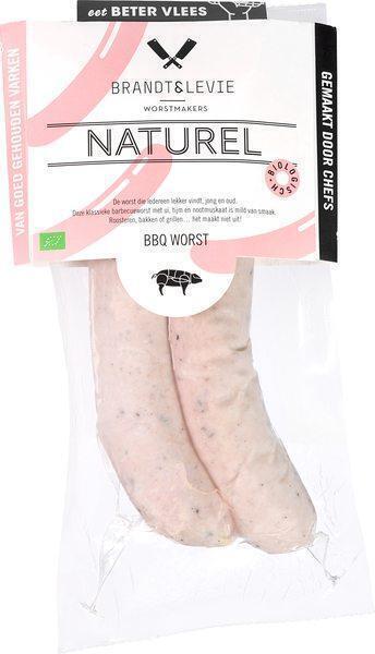 BBQ worst naturel (260g)