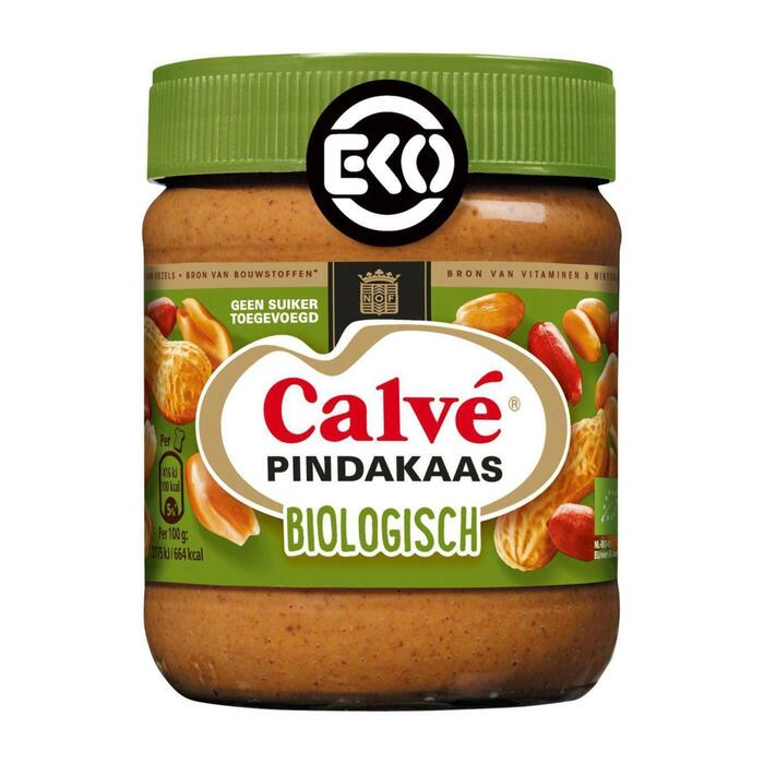 Calvé Pindakaas biologisch (350g)