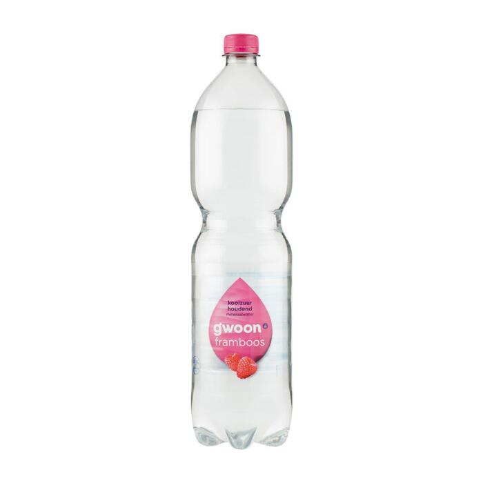 g'woon Mineraalwater koolzuurhoudend framboos (1.5L)