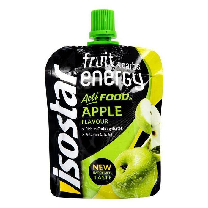 Isostar Acti Food Fruit Gel Energy Apple 90g (90g)