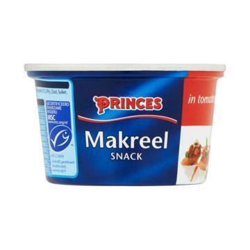 Princes Makreel snack (125g)