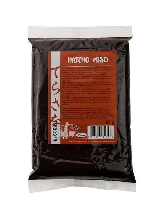 Hatcho miso (soja) ongepasteuriseerd TerraSana 400g (400g)