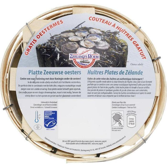 Insel Platte oesters (6 × 330g)