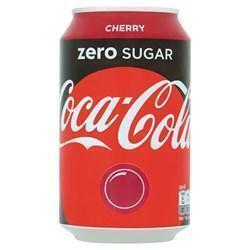 Coca-Cola Zero Cherry (rol, 33 × 33cl)
