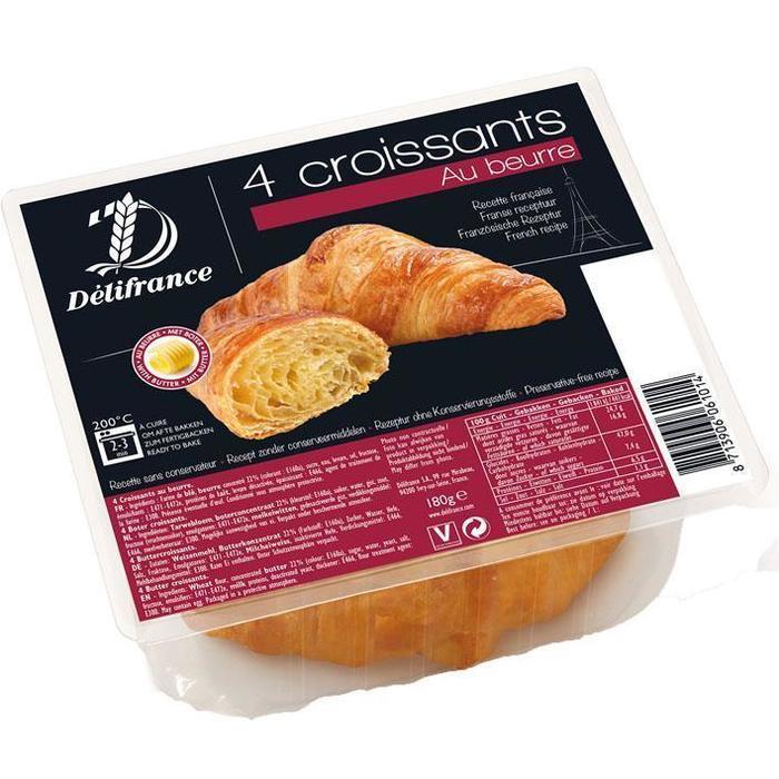 4 Croissants Au Beurre (zak, 4 × 180g)
