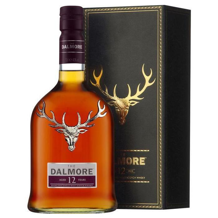 Dalmore Single malt Scotch whisky 12 years (rol, 70 × 0.7L)