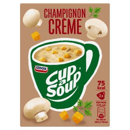 Unox Cup-a-soup champignon creme (3 × 17g)