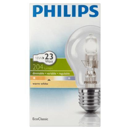 Philips Ecoclassic halogeenlamp 18W