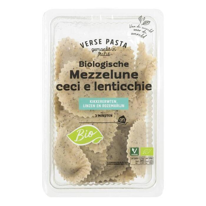 AH Biologisch Mezzelune ceci e lenticchie vegan (250g)