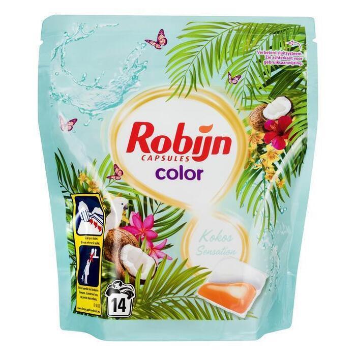 Robijn Wasmiddel capsules kokos sensation (14 × 337g)