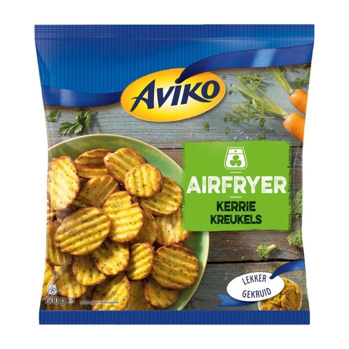 Airfryer kerrie kreukels (600g)