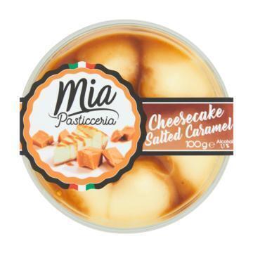 Mia Pasticceria Cheesecake Salted Caramel 100 g (100g)