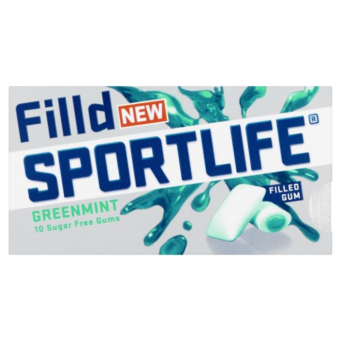 Sportlife Filld Greenmint 21,8gr blisterverpakking (21.8g)