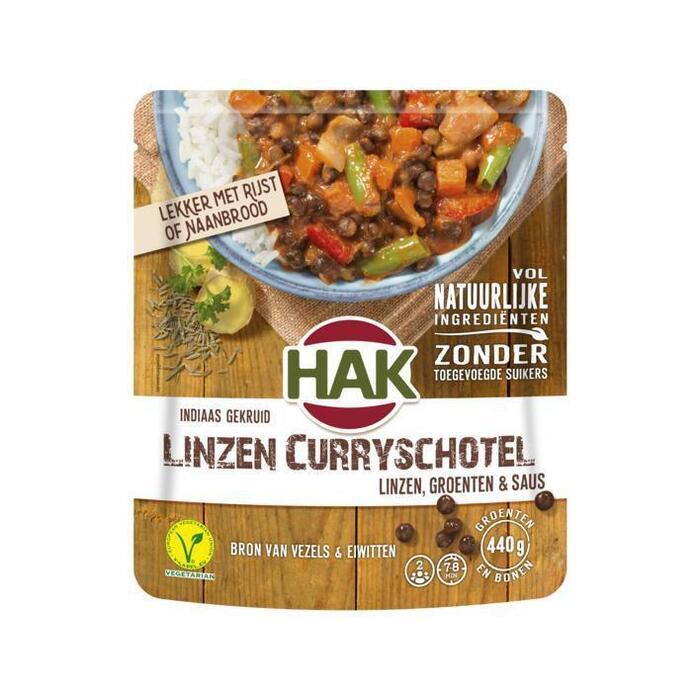 Hak Linzen-curry (500g)