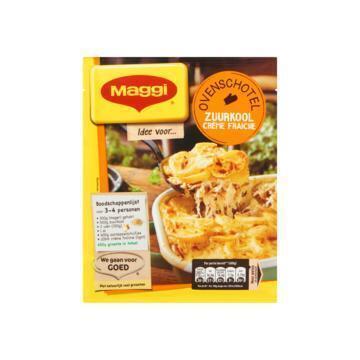 Ovenschotel zuurkool crème fraîche (56g)