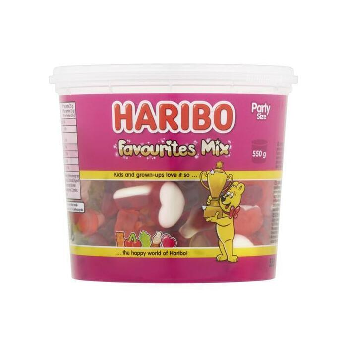 Haribo Favourites mix silo (emmer, 550g)