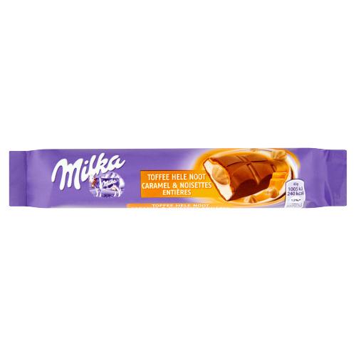 Milka Toffee Hele Noot (reep, 43g)