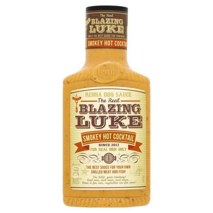 The Real Blazing Luke Smokey Hot Cocktail Saus (fles, 45cl)