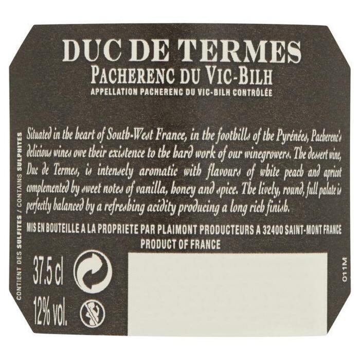 Duc de Termes Pacherenc du Vic-Bilh 37, 5cl (37.5cl)