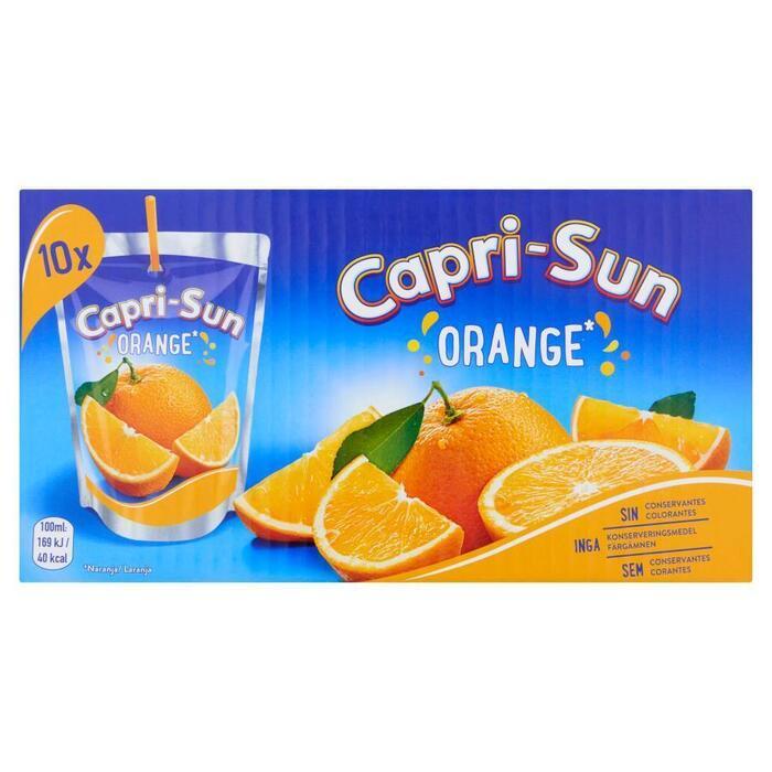 Capri-Sun Orange 10 x 200 ml (Stuk, 10 × 2L)