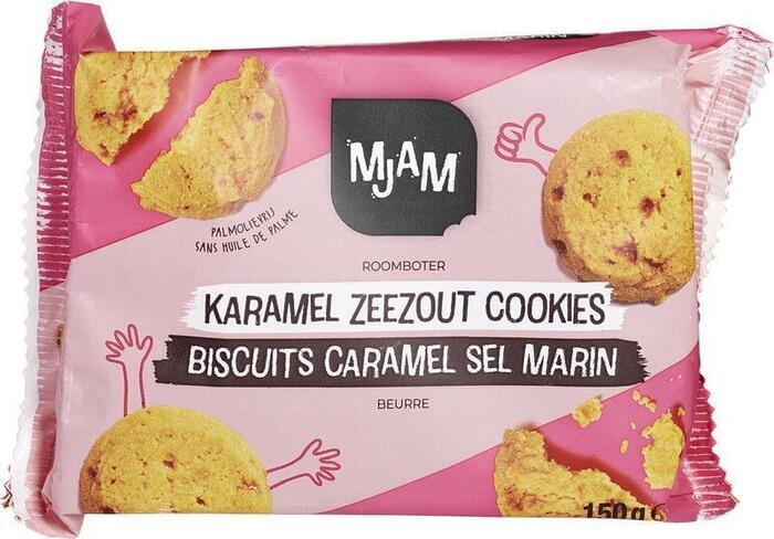 Karamel zeezout cookies (150g)