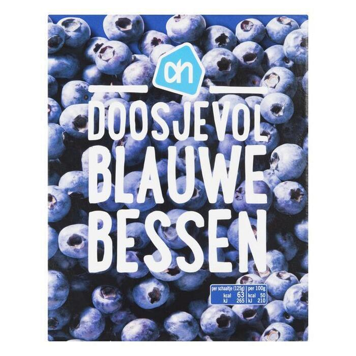 Doosjevol Blauwe Bessen (doos, 250g)