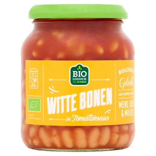Jumbo Biologische Witte Bonen in Tomatensaus 360 g (360g)