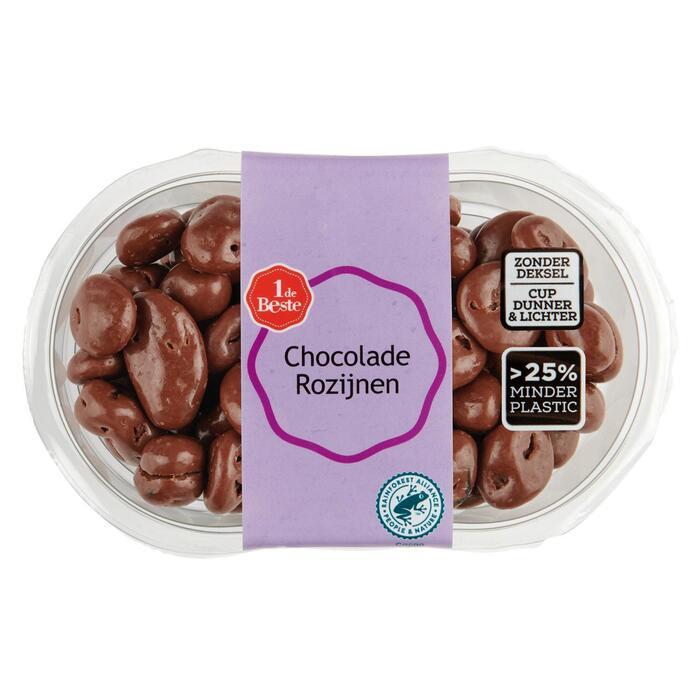 Chocolade rozijnen (225g)