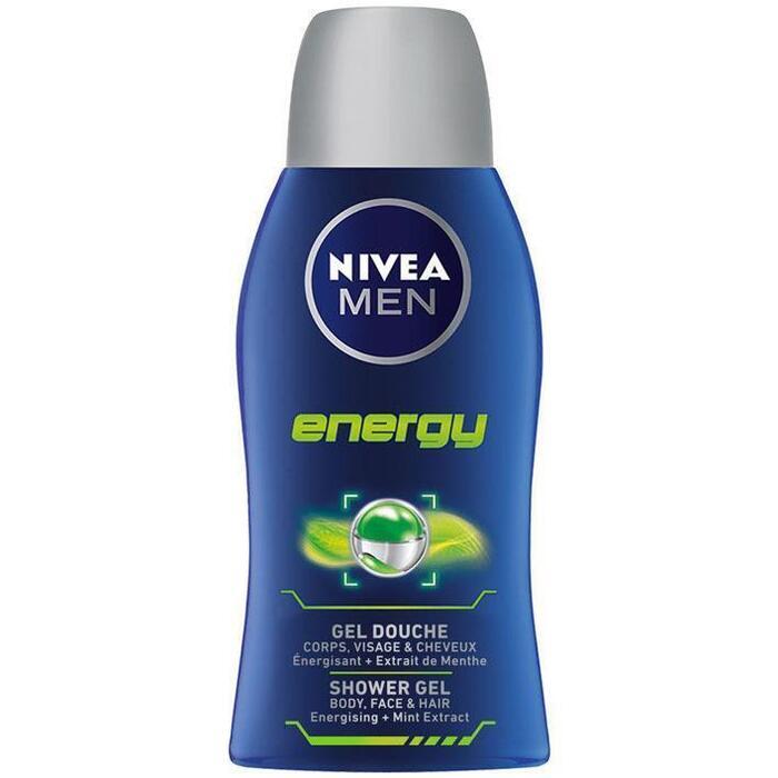 Nivea Men energy shower gel body-face-hair (50ml)