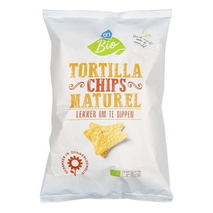 AH Biologisch Tortilla chips gezouten (125g)