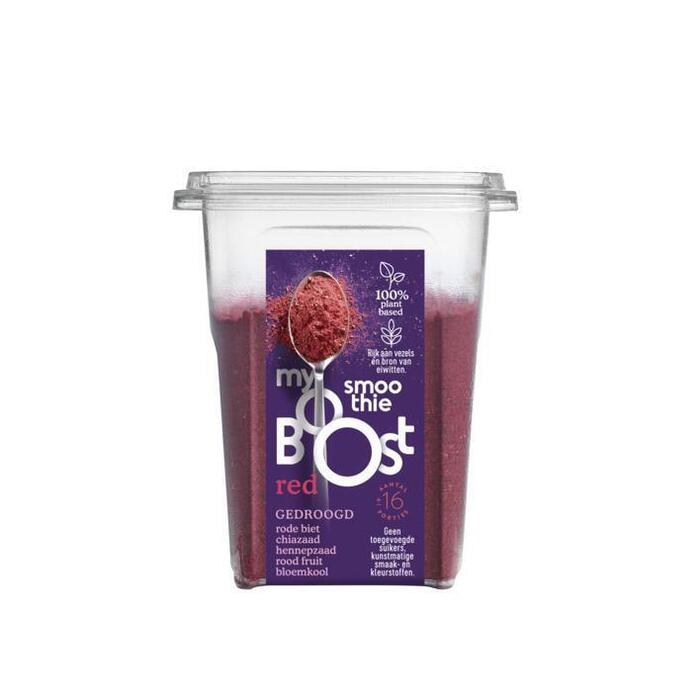 MyBoost Smoothiebooster red (160g)