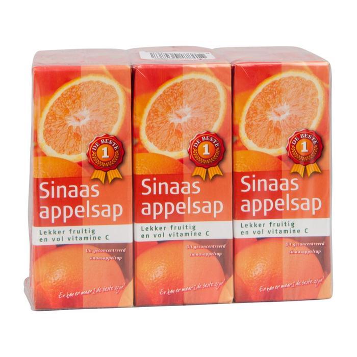 Sinaasappelsap (6 × 200ml)