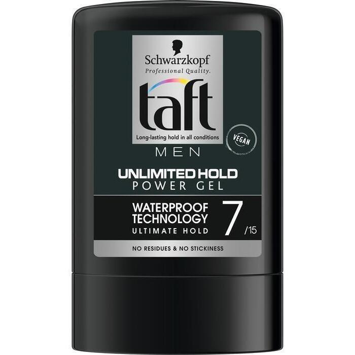 Schwarzkopf Taft Unlimited Hold Power Gel Flacon 300 ml (30cl)
