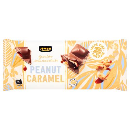 Jumbo Peanut Caramel Gevulde Melkchocolade 190 g (190g)