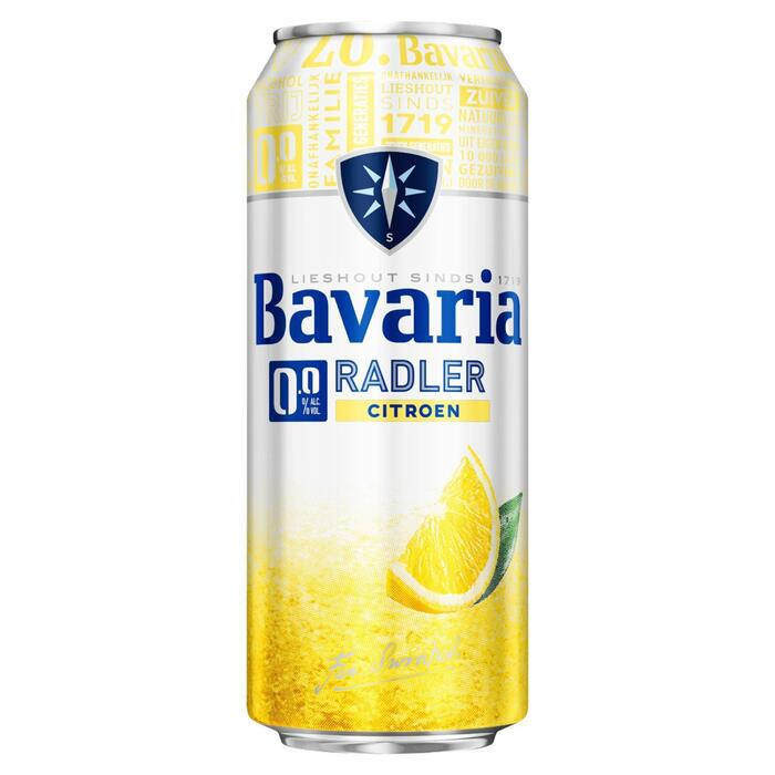 Bavaria 2.0 Radler Lemon Blik 50 cl (rol, 0.5L)