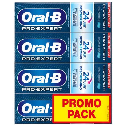 Oral-B Pro-Expert Professional Protection Tandpasta 4x75ml