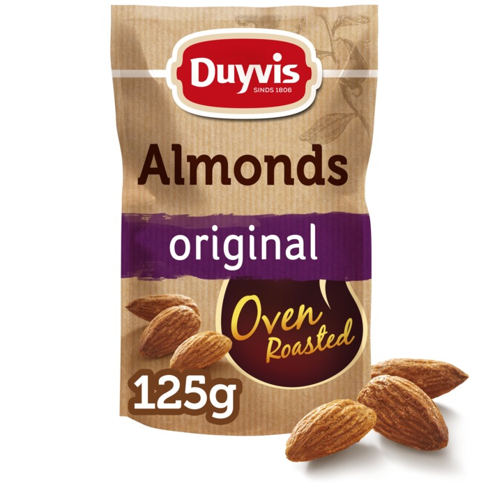Oven Roasted Almonds (125g)