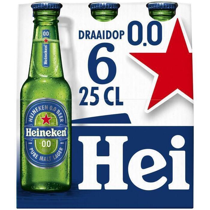 Heineken 0.0% (6 × 250ml)