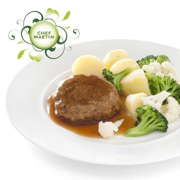 Chef Martin Gehaktbal in jus broc-bloemkool aardap (460g)
