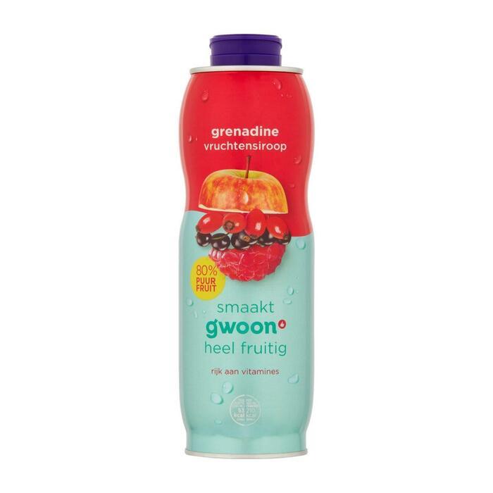 Vruchtensiroop Grenadine 750 ml (0.75L)